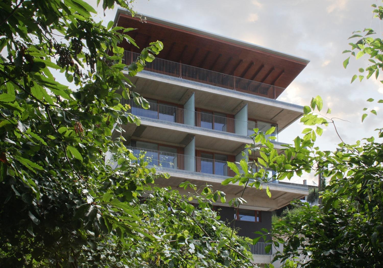 Edificio residenziale, Bosco
